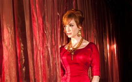 Preview wallpaper Christina Hendricks 04