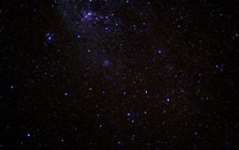 Aperçu fond d'écran Beaucoup d'étoiles, ciel, espace, nuit