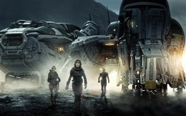 Vorschau des Hintergrundbilder Prometheus, Sci-Fi-Film