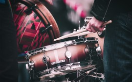 Vorschau des Hintergrundbilder Schlagzeug, Musik