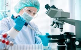 Laboratory professionals, doctor, medicine, equipment