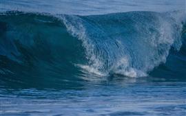 바다 파도, 물방울, 스플래시