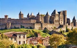 Франция, Замок Каркассон, Город