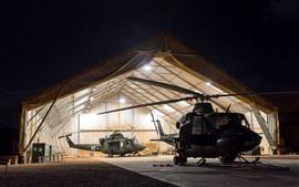 Vorschau des Hintergrundbilder Hubschrauber, Lichter, Armee