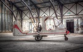 Vorschau des Hintergrundbilder Hausgemachtes Flugzeug