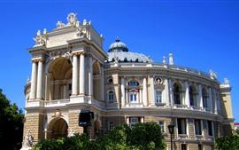 Украина, дворец, театр, город