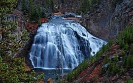 Parque Nacional de Yellowstone, EUA, Cachoeira