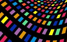 Mallas de colores, abstracto