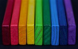 预览壁纸 多彩的木材形式