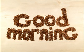 Доброе утро, кофейные зерна