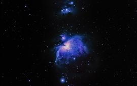 Aperçu fond d'écran Nébuleuse, espace, étoiles, univers
