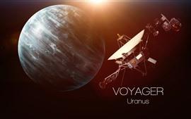 Aperçu fond d'écran Uranus, satellite, univers