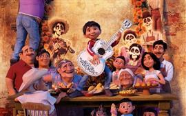 Vorschau des Hintergrundbilder Coco, Cartoon-Film, Disney