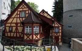 Alemania, Mersburg, Casa