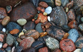 壁紙のプレビュー 石、石畳、カラフルな