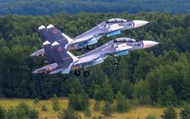 Vorschau des Hintergrundbilder SU-30 Mehrzweckkämpfer