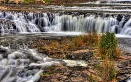 Aperçu fond d'écran Cascades, courant d'eau, paysage de la nature